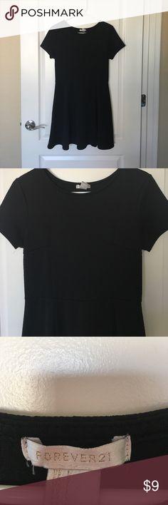 Forever 21 black, skater dress. Little Black, Forever 21 dress, worn once for an event. Forever 21 Dresses