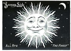 """The Finest"", Sunny Side all rye whiskey, c. 1889"