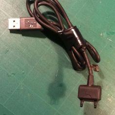 USB conecto teléfono móvil