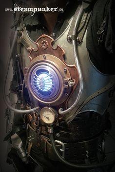 Steampunk Iron Man by steamworker on DeviantArt