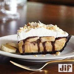 Peanut Butter Banana Cream #Pie from Jif®