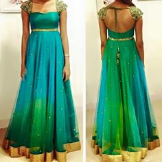 Elegant Fashion Wear Explore the trendy fashion wear by different stores from India Long Gown Dress, Frock Dress, Saree Dress, Long Frock, Saree Blouse, Designer Anarkali Dresses, Designer Dresses, Designer Kurtis, Designer Wear