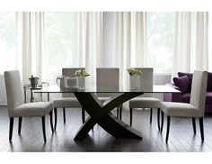 Modern furniture, accessories, home decor Dining Table Chairs, Dining Set, Dining Rooms, Minimalist Dining Room, Decoration, Modern Furniture, Sweet Home, Coffee, Dark
