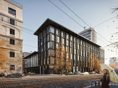 nspired by LA SERENISSIMA OFFICE BUILDING at Milan Artist: Trần Minh Nhật Website: N-BOX STUDIO Software used: 3ds Max   Corona Rend...