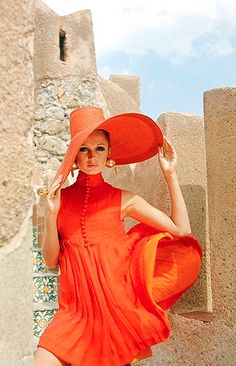 Vogue December 1967.  Photo by Henry Clarke taken in Palmero, Italy.