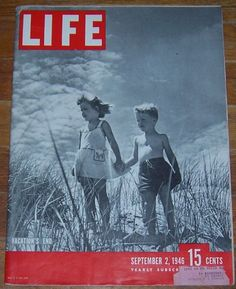 Life Magazine September 2, 1946 Vacation's End