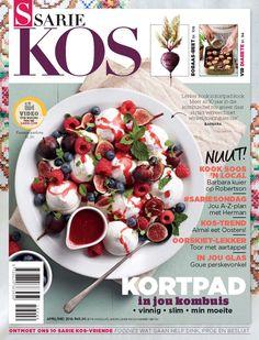 1 April 2016 — the best magazine covers this week — SARIE Kos, April/May Cool Magazine, Magazine Covers, April May, Pavlova, Caprese Salad, Kos, Dinner Recipes, Tasty, Vegetables