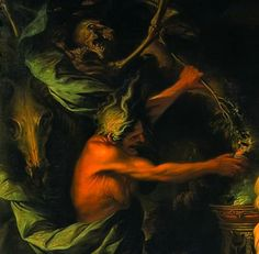 The Witch of Endor, 1668 (detail) by Salvator Rosa Witch Of Endor, Gothic Horror, Occult, Scary, Fairy Tales, Sci Fi, Old Things, Morals, Baroque
