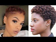 (85) Best Short Hair Transformations & Big Chops | Black Women Cutting Hair - YouTube Medium Hair Styles, Short Hair Styles, Black Hair Inspiration, Cool Short Hairstyles, Big Chop, Fashion News, Fashion Beauty, Hair Transformation, Style Guides