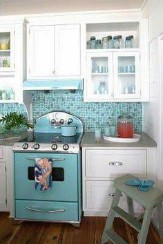 I like that some cabinets are glass, I think this will lighten the kitchen up little