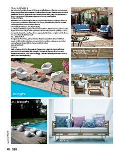 """An article about XLBoom's ball chair in """"Dear Magazine"""" April 2013"""