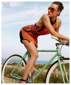 """Tour de Femme"" by Dirk Kikstra for Harper's Bazaar Mexico - Alexander Wang"