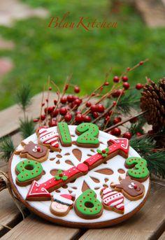 Christmas Cookie-Gingie Clock