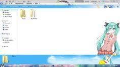 [Win7 Theme] Hatsune Miku Ver 19 (SG 2014) By HT