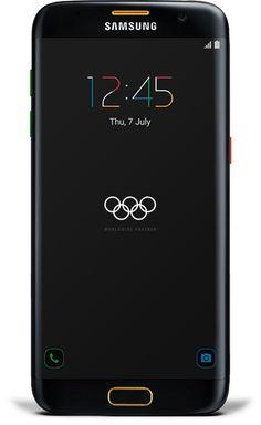 Samsung Galaxy S7 edge (Latest Model) - 32GB - Black (Unlocked) Olympic Edition