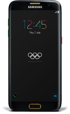 Samsung Galaxy S7 edge (Latest Model) - 32GB - Black (Unlocked) Olympic Edition
