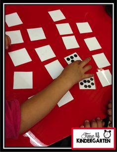 Time 4 Kindergarten: Subitizing- Building Strong Number Sense in Kindergarten Numbers Kindergarten, Math Numbers, Teaching Kindergarten, Teaching Boys, Preschool Math, Teaching Ideas, Subitizing Activities, Numeracy, Counting Activities