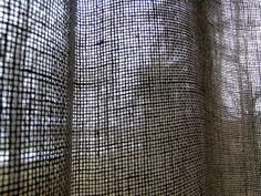 Woven Linen curtain with boucle square Linen Curtains, White Curtains, Boucle Yarn, Natural Linen, Header, Yarns, Stylish, Shop, Fabric