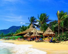 Isla Margarita, Venezuela - this is a magic place! i spent my honey moon there :) Great Places, Places To See, Beautiful Places, Southern Caribbean, Largest Waterfall, Beaches In The World, Tropical Paradise, Vacation Spots, Places To Travel
