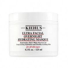 Kiehl's Since 1851 Ultra Facial Overnight Hydrating Mask #CoffeeScrubForStretchMarks Best Hydrating Face Mask, Protein Deserts, Maybelline, Overnight Face Mask, Mask For Dry Skin, Peeling, Facial Masks, Facial Scrubs, Anastasia