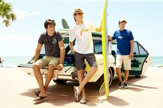 Check Out our Hurley Beveled Badge T-Shirt in Black, Rusty Hay Day II T-Shirt in White, and Quiksilver Mountain Wave T-Shirt in Estate Blue #BeallsFlorida #BeallsFirstDay