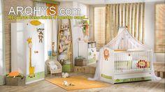 ¿Cómo decorar la habitación del bebe?. Cuartos y dormitorios para recién...