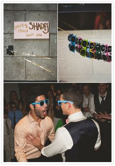 Smog Shoppe Wedding Party Shades, can double as decor and favors Wedding Bells, Wedding Events, Wedding Favors, Our Wedding, Dream Wedding, Weddings, Wedding Beauty, Wedding Reception, Wedding Stuff