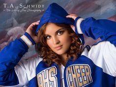 cheer portrait photos - Google Search Senior Cheerleader, Cheerleading, Team Photos, Portrait Photo, Lacrosse, Senior Photos, Sports, Photography, Jackets