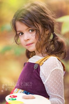 #sandrabiancophotography What an adorable girl and a fantastic photo!