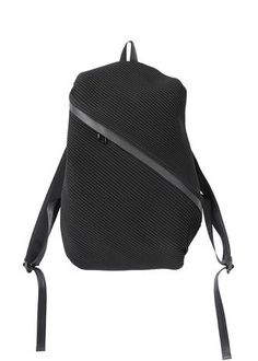 Cool idea for a laptop bag Bias Pleats Backpack - Issey Miyake - travel shoulder bags online, ladies bags online, bags and all *sponsored https://www.pinterest.com/bags_bag/ https://www.pinterest.com/explore/bag/ https://www.pinterest.com/bags_bag/messenger-bags-for-women/ http://us.asos.com/women/bags-purses/cat/?cid=8730