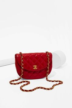 Vintage Chanel Quilted Mini Bag