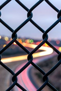 Through the fence photography bokeh picture Bokeh Photography, Exposure Photography, Tumblr Photography, Urban Photography, Creative Photography, Amazing Photography, Street Photography, Landscape Photography, Shape Photography