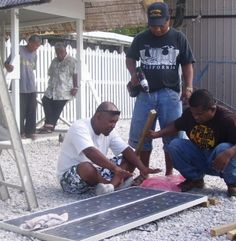 Marshall Island's Technology: Some places on Marshall Island they have solar panels!