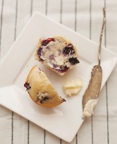 Better Breakfast: Blueberry Corn Muffins - Whole Living Daily : Whole Living