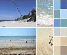 Colour Collaborative post for July: Summer and Summer brights Colour Schemes, Color Combinations, Colour Palettes, What Are Colours, Beach Color, Cool Apartments, Photography Projects, Beach Fun, Digital Photography