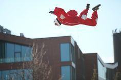 Flying people by Aerodium People, People Illustration, Folk