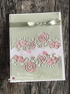 Ideas Scrapbook, Scrapbook Cards, Stampin Up, Making Greeting Cards, Embossed Cards, Stamping Up Cards, Blog, Love Cards, Valentine Day Cards