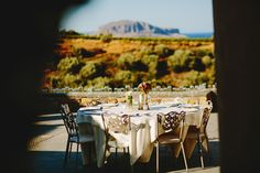 "This is a wedding all the way from Greece! And it's breathtaking. Photographer Adonis Kekidakis wrote, ""An importand occasion full of touching moments, love, and affection. Wedding Table, Wedding Favors, Wedding Decorations, Honeymoon Destinations, Greece, Destination Wedding, Magic, In This Moment, World"