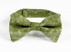 Boy's Bow Tie, Newborn, Baby, Child- Olive Green, Marbled | Toma's Tutus and Things
