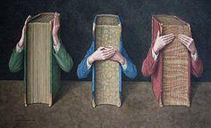 Biblio-Surrealism of Jonathan Wolstenholme  Three Wise Books, 2005