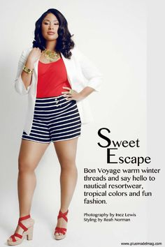 ISSUU - Plus Size PLUS Model Magazine: February 2012 Issue Featuring Anansa Sims by PLUS Model Magazine