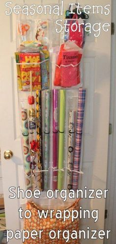 15 DIY Scarf Organizer Ideas. Useful tips for the scarves you'll need to bring out of storage soon!