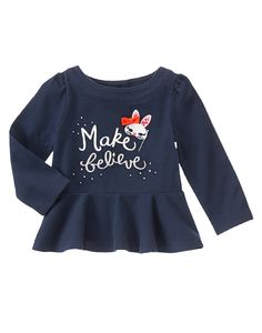 Make Believe Top at Gymboree Collection Name: Prep Perfect (2014)