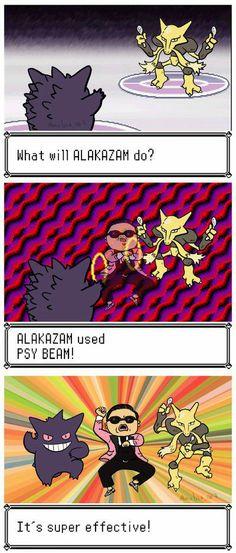 Pokemon x Gangnam Style