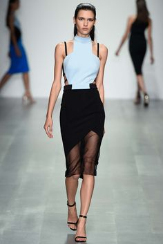 REPIN this David Koma look and it could be yours to rent next season on Rent the Runway! #RTRxLFW