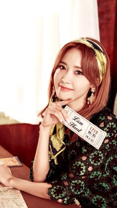 150905 LINE DECO Lion Heart SNSD Yoona