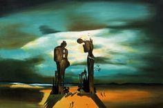 Salvador Dali: Archeological Reminiscence of Millet Angelus