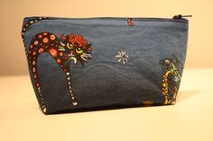 de la boutique AteliersTaffetas sur Etsy Zip Around Wallet, Boutique, Etsy, Bags, Teen, Pouch Bag, Unique Jewelry, Gift, Women