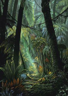 Jungle from Etrian Odyssey