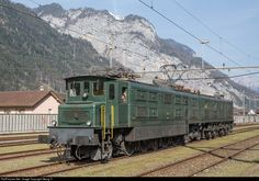 11801 SBB Historic Ae 8/14 at Erstfeld, Switzerland by Georg Trüb
